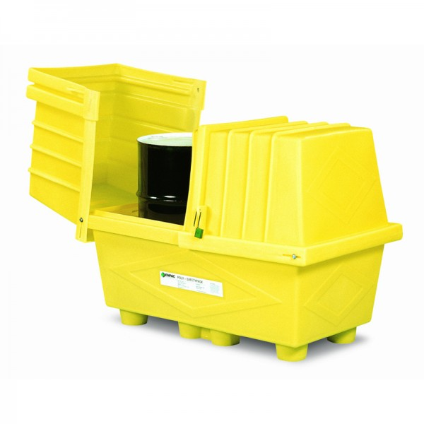 Poly Safety Pack - 2 Drum - SpillCentre
