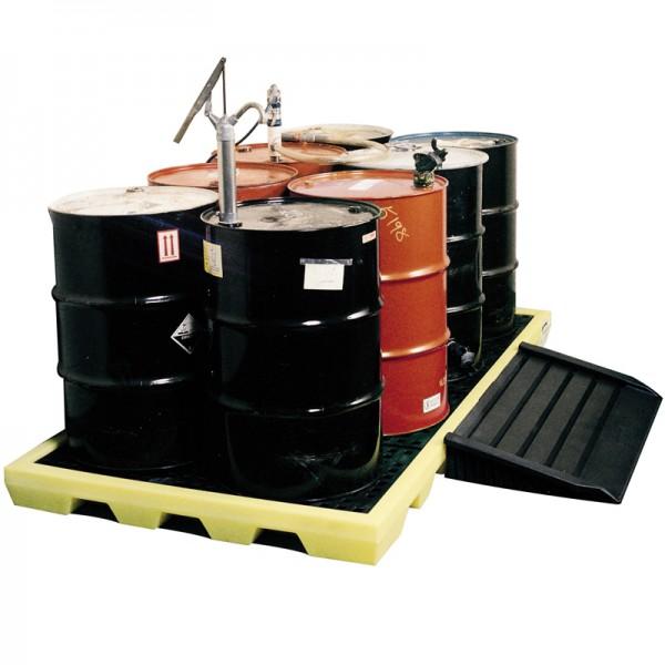 Workfloor for 8 x 205L Drums - D 254cm x 135cm x 15cm - SpillCentre