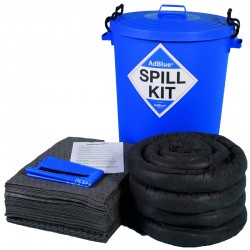 100L AdBlue Spill Kit in Plastic Bin - SpillCentre