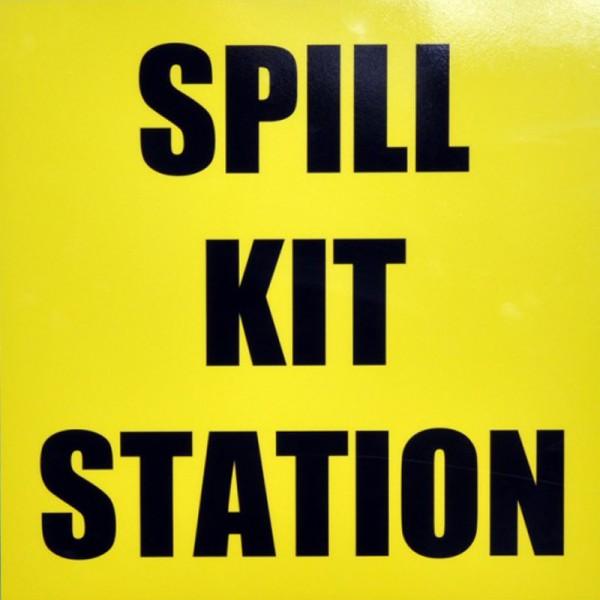 Spill Kit Station Sign - SpillCentre