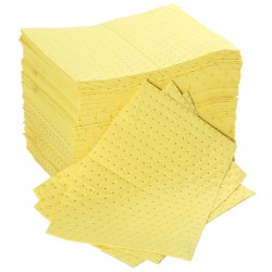 Chemical Pad - Premium thickness, Bonded & Perforated - 40cm x 50cm - Pack Size: 100 - SpillCentre