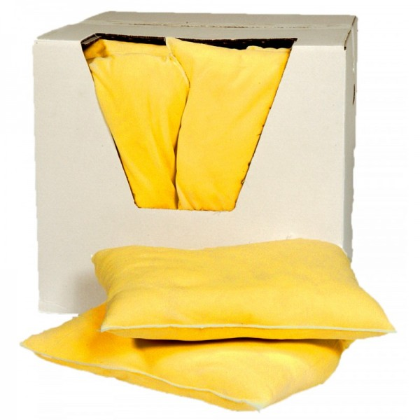 Chemical Absorbent Large Cushions - Absorbs 40L - Pack: 10 - SpillCentre