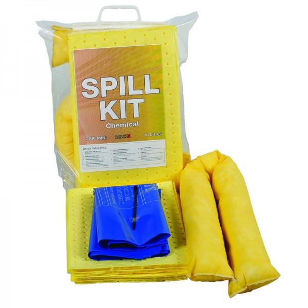 10 litres Chemical Mini Spill Kit - SpillCentre