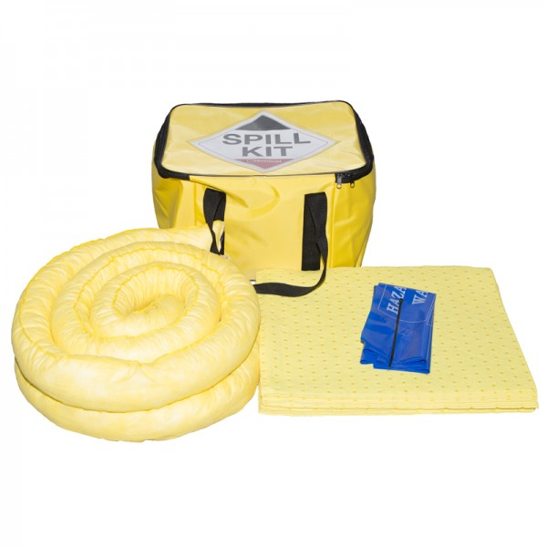 35L Chemical Spill Kit in Cube Bag - SpillCentre