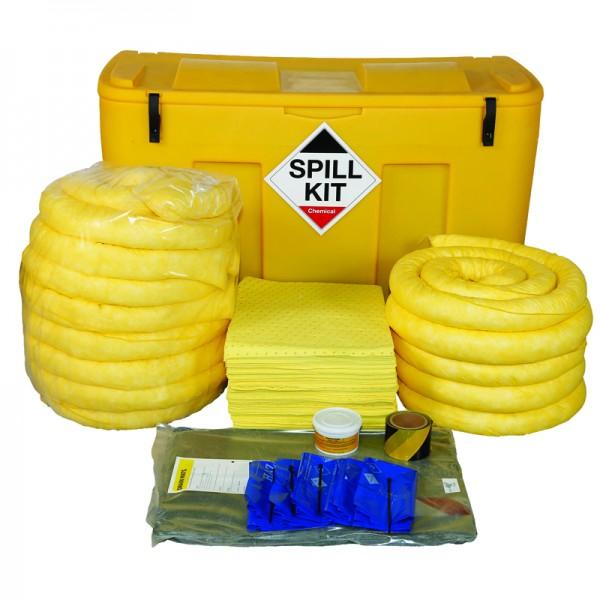 250L Chemical Spill Kit in a Locker - SpillCentre