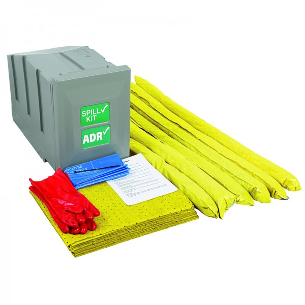 80L Chemical Vehicle Trailer/Chassis Mounted Spill Kit - SpillCentre