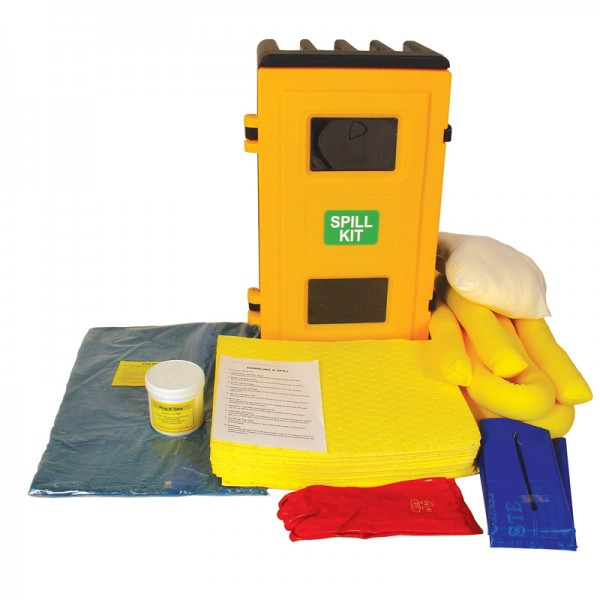 80L Chemical Cab Mounted Spill Kit - SpillCentre