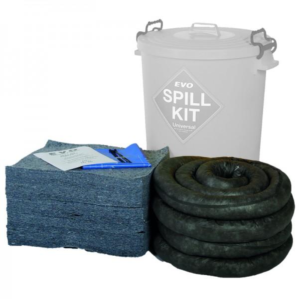 90L Plastic Bin EVO Spill Kit Refill - SpillCentre