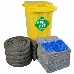 120L EVO Spill Kit in Wheeled Bin - SpillCentre