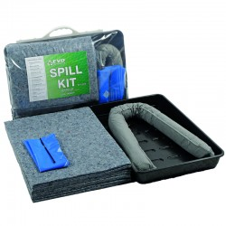 20L EVO Oil & Fuel Universal Spill Kit with Drip Tray - SpillCentre
