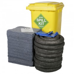 240L EVO Spill Kit in Wheeled Bin - SpillCentre