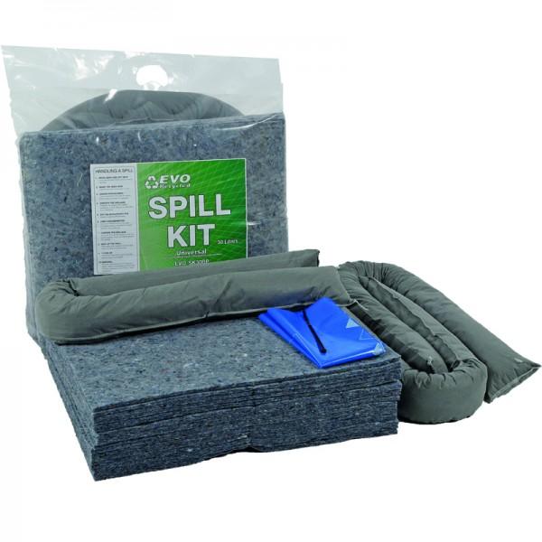 30L EVO General Spill Kit in Break Plastic Bag - SpillCentre