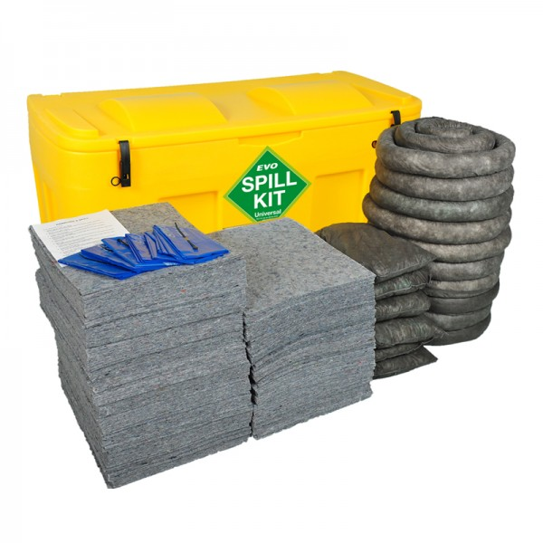 400L Evo Universal Absorbent Locker Spill Kit - SpillCentre