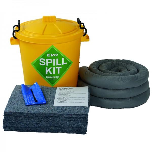 60L EVO Spill Kit in Plastic Bin - SpillCentre