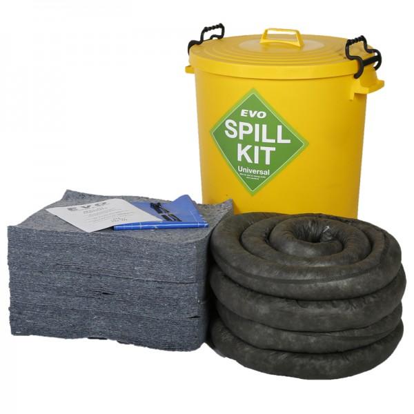 90L EVO Spill Kit in Plastic Bin - SpillCentre