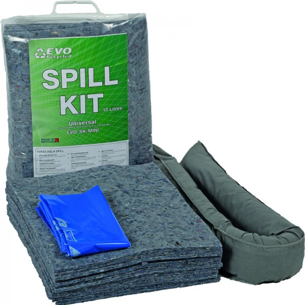 10L EVO Mini General Spill Kits - SpillCentre