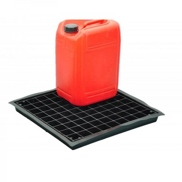 Flexible Tray for 3 x 20L Containers - D 52cm x 52cm x 5cm - SpillCentre
