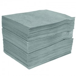 General Purpose Pad - Single thickness, Plain - 40cm x 50cm - Pack of 200 - SpillCentre