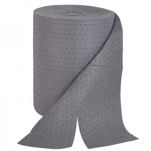 General Purpose Roll - Single thickness - 50cm x 80M - Absorbent 100L - SpillCentre