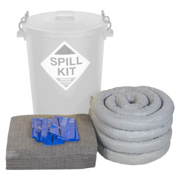 90L Bin General Purpose Spill Kit Refill - SpillCentre