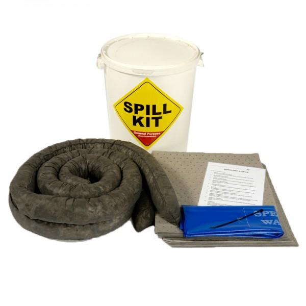 35L General Spill Kit in Plastic Drum - SpillCentre