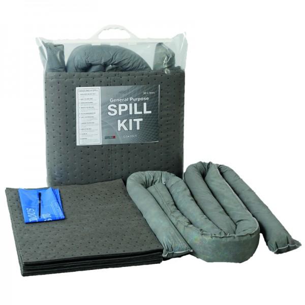 30L General Spill Kit in Clip-Close Plastic Bag - SpillCentre