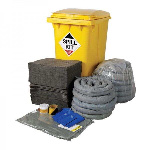 350L General Spill Kit in Wheeled Bin - SpillCentre