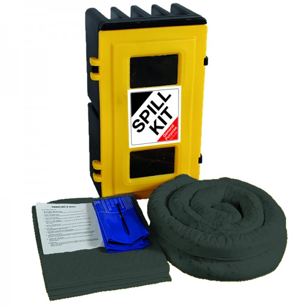 50L General Spill Kit in Wall Cabinet - SpillCentre