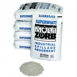 35 Bags - Multi Zorb White Granules - SpillCentre