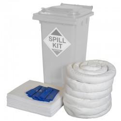120L Bin Oil & Fuel Spill Kit Refill - SpillCentre