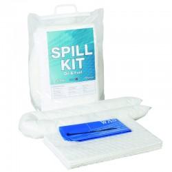 10 litres Oil & Fuel Mini Spill Kit - SpillCentre