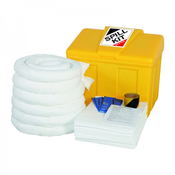125L Oil & Fuel Spill Kit in Locker - SpillCentre