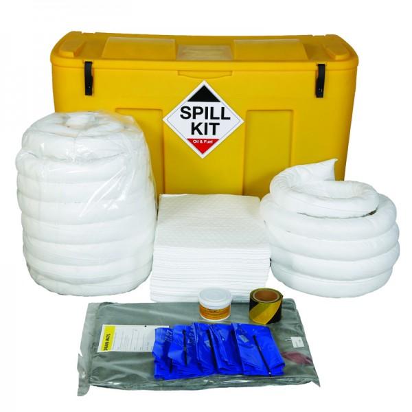 250L Oil & Fuel Spill Kit in a Locker - SpillCentre