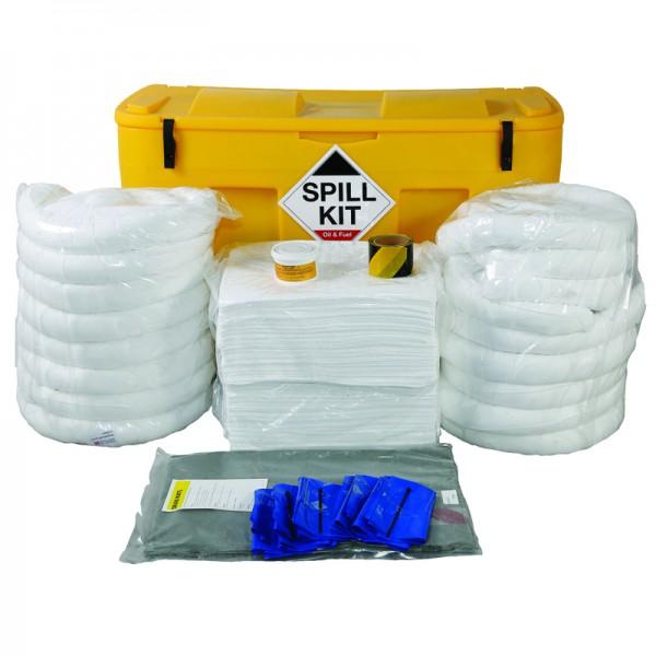 350L Oil & Fuel Spill Kit in a Locker - SpillCentre
