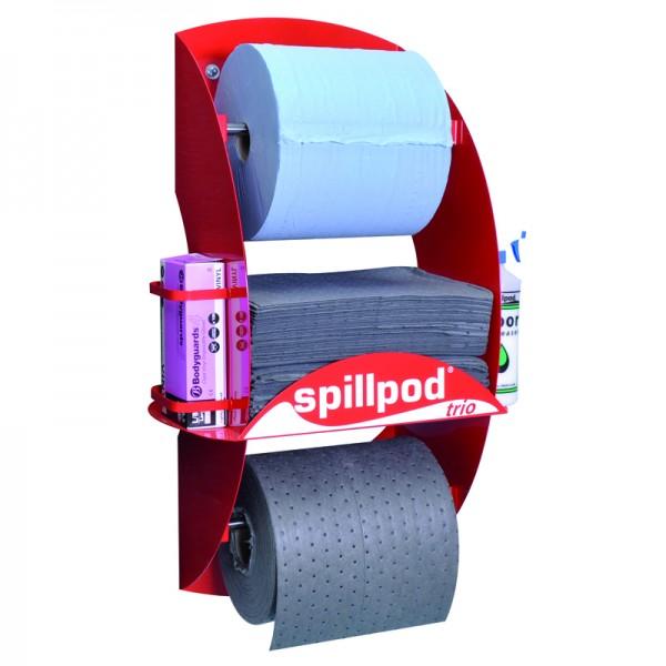Trio Spill Pod Dispenser Station for General Spillages - SpillCentre