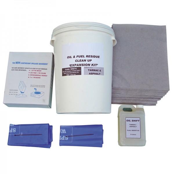 Tarmac & Asphalt Cleaning Kit - Expansion Pack 2.5 SqM - SpillCentre