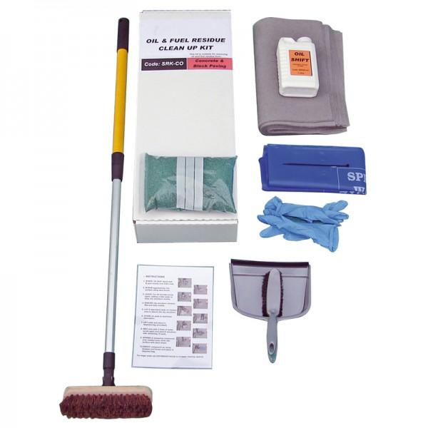 Concrete & Block Paving Cleaning Kit - SpillCentre