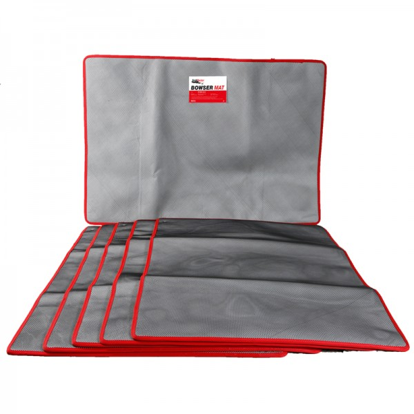 Bowser Mat Pack of 5 - Size: Larges - SpillCentre