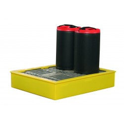 100L Spill Tray Suitable For 4x 25L Cans - SpillCentre