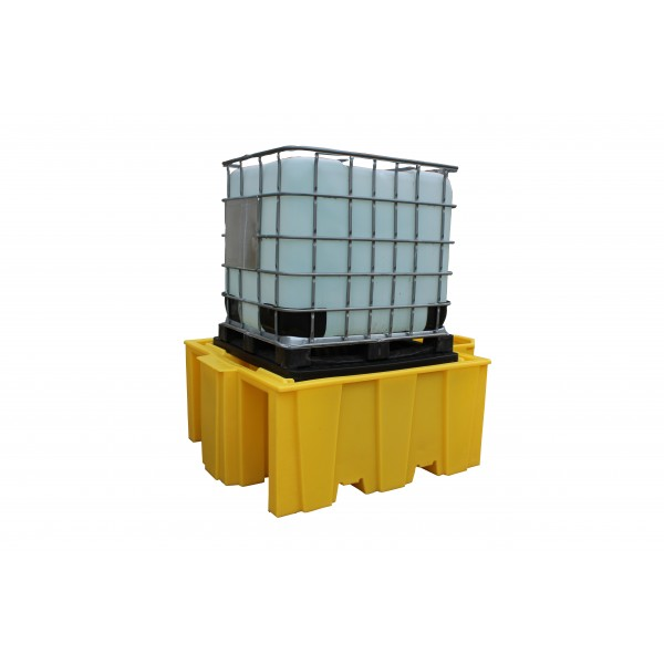 1000L IBC Bund Pallet With Integral Dispenser - SpillCentre