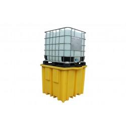 1000L IBC Bund Pallet With 4 Way Entry - SpillCentre
