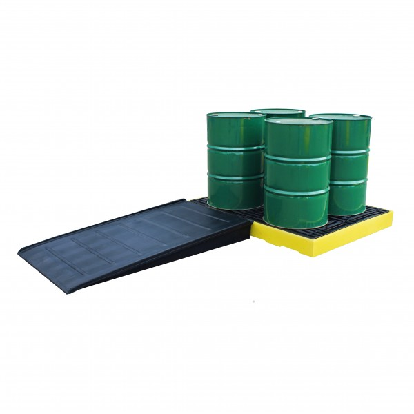 Ramp For Bund And Non Bund Flooring 174cm x 100cm x 16cm - SpillCentre