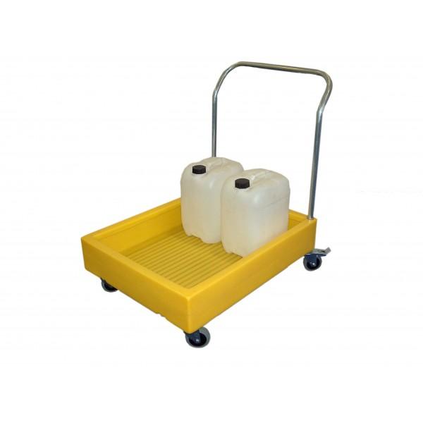 Bund Trolley For 4x 25L Cans, 100L Bund - SpillCentre