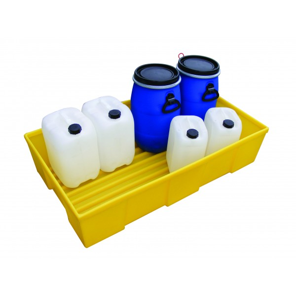 General Purpose Tray For 2x 205L Drums, 230L Bund - SpillCentre