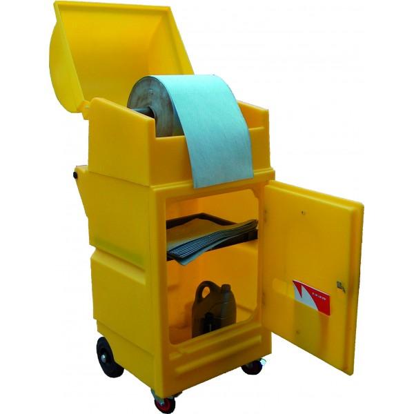 Small Poly Maintenance Cart - SpillCentre