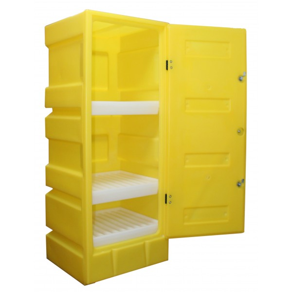 Medium Lockable Storage Cabinet - SpillCentre