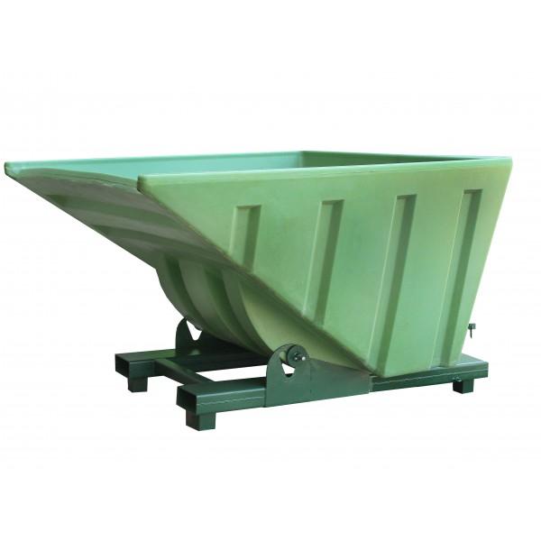 Roll Forward Skip With Plastic Bucket - SpillCentre